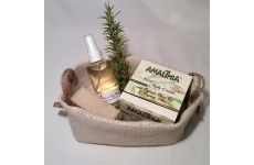 "Body Care Products Local Go Global ""Handmade Small Basket"""