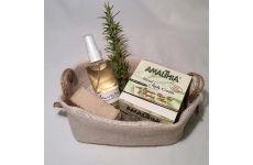 Körperpflege Produkte in unserem handgefertigten Geschenkkorb