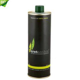Cretanthos | Extra Virgin Olive Oil | BIO | Black Tin (500ml)